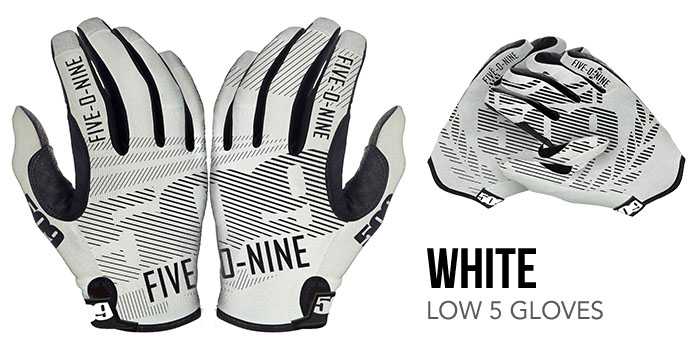 White Low 5 Glove