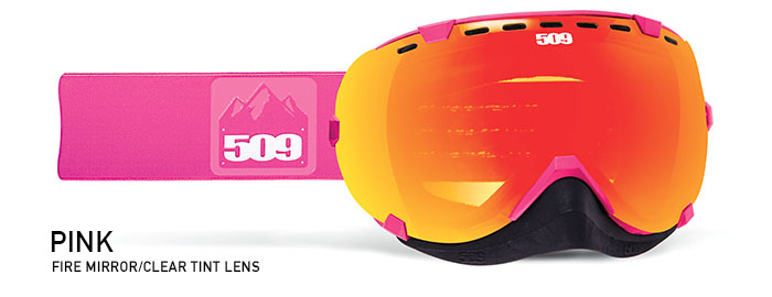 Pink Aviator Snow Goggle