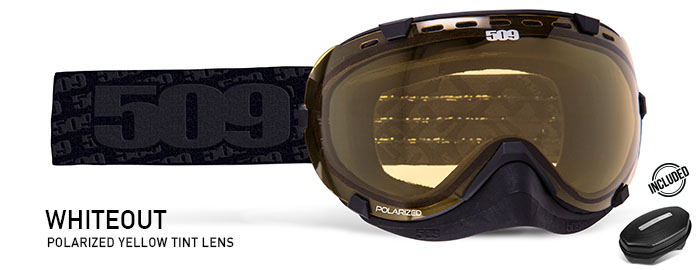 Whiteout Aviator Snow Goggle
