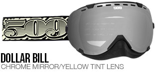 Dollar Bill Aviator Snow Goggle