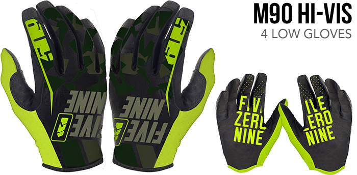 M90 Hi-Vis 4 Low Gloves