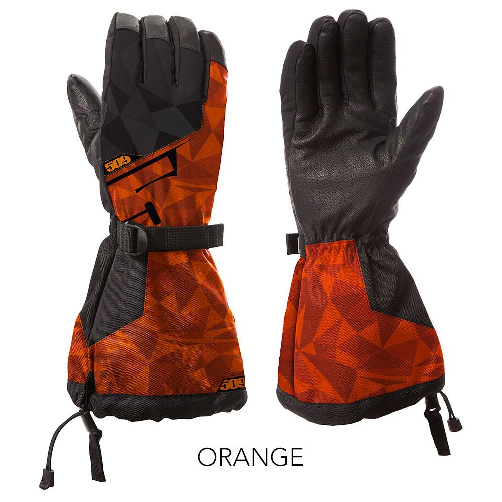 509 Orange Backcountry Snowmobile Gloves