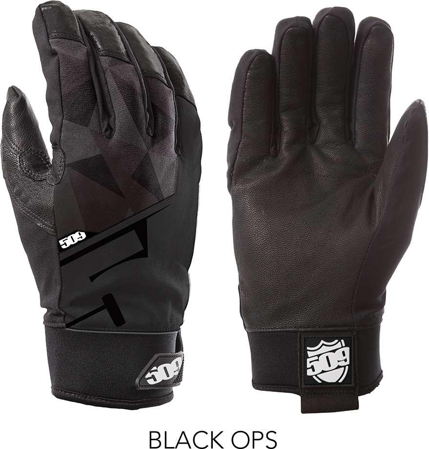 509 Black Ops Freeride Snowmobile Gloves