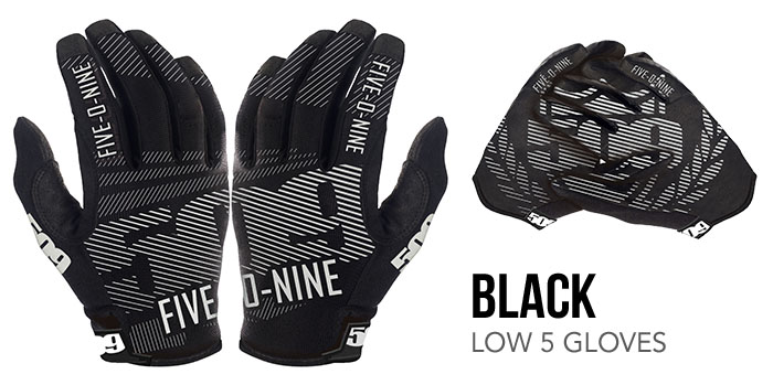Black Low 5 Glove