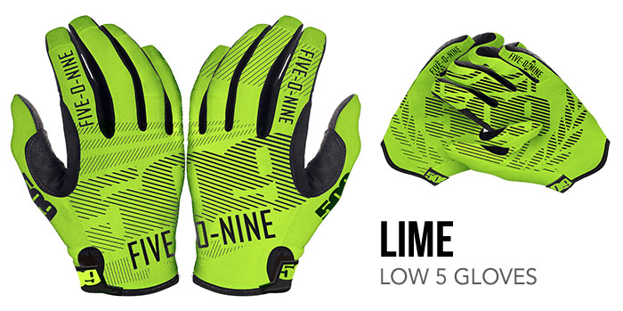 Lime Low 5 Glove