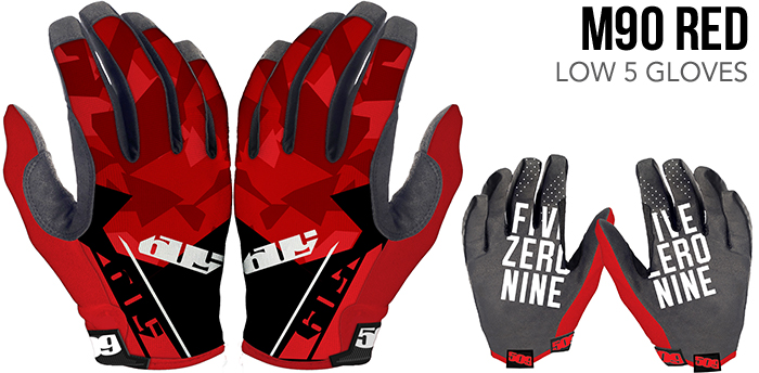 M90 Red Low 5 Glove