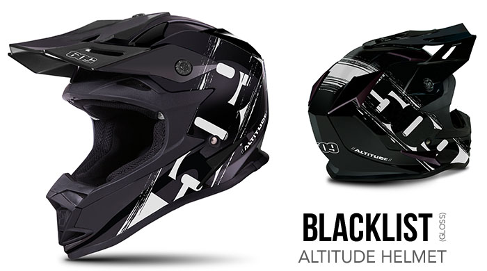 Blacklist Altitude Snow Helmet