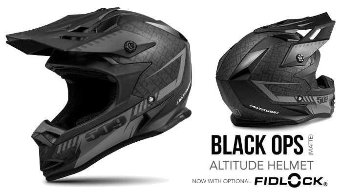 Black Ops Altitude Snow Helmet