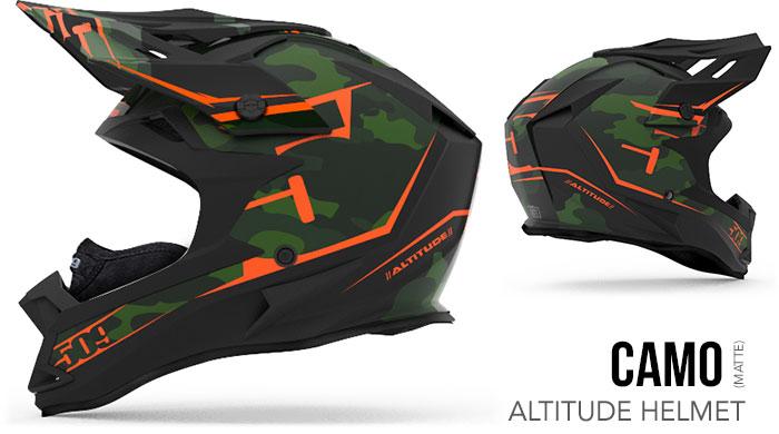 Camo Altitude Snow Helmet