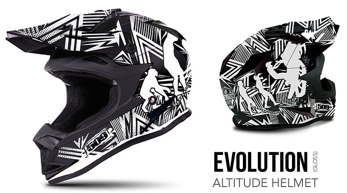 Evolution Altitude Snow Helmet