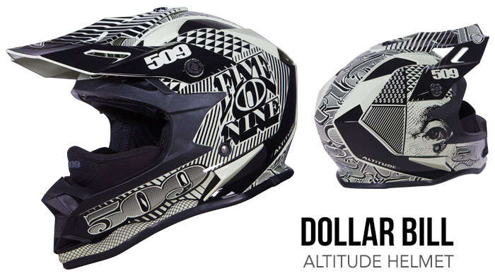 Dollar Bill Altitude Snow Helmet