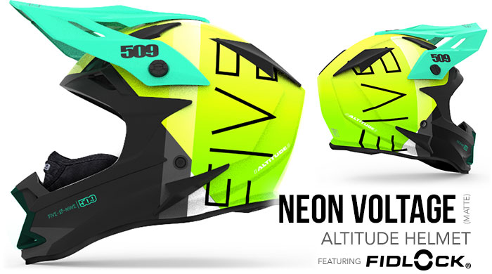 Neon Voltage Altitude Snow Helmet