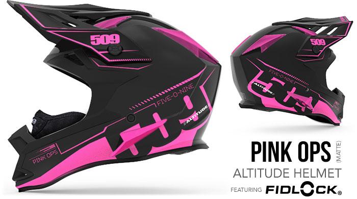 Pink Ops Altitude Snow Helmet