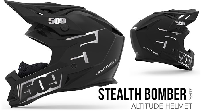 Stealth Bomber Altitude Snow Helmet
