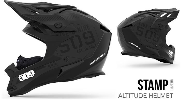 Stamp Altitude Snow Helmet