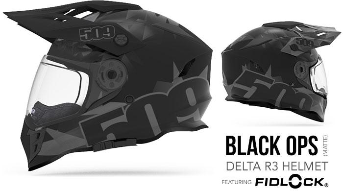 Black Ops Delta R3 Snow Helmet