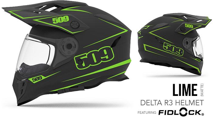 Lime Delta R3 Snow Helmet