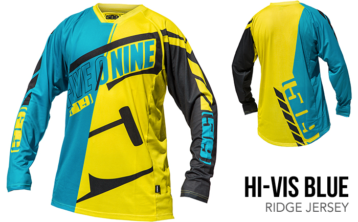 509 Hi-Vis Blue Ridge Jersey