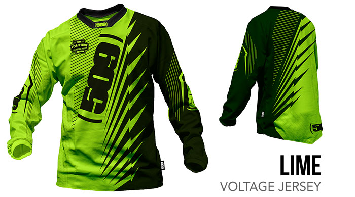 Lime Voltage Jersey