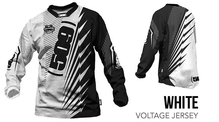 White Voltage Jersey