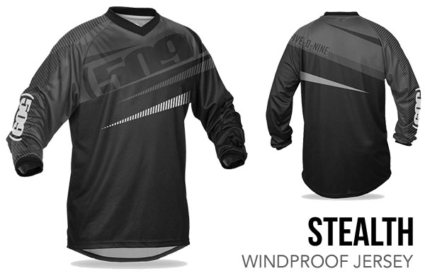 Stealth Windproof Jersey