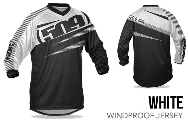 White Windproof Jersey