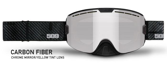 Carbon Fiber Kingpin Snow Goggle