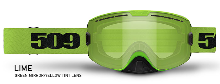 Lime Kingpin Snow Goggle