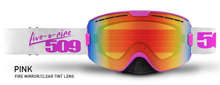 Pink Kingpin Snow Goggle