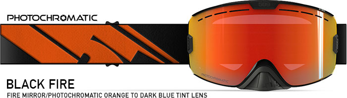 Black Fire Kingpin Snow Goggle