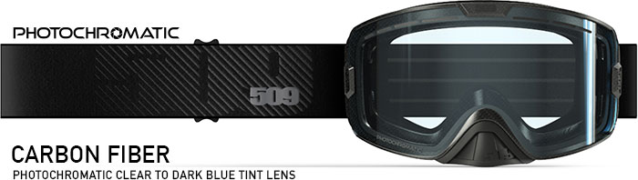 Carbon Fiber Kingpin Snow Goggle