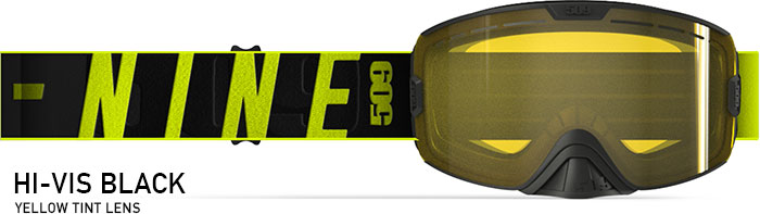 Hi-Vis Black Kingpin Snow Goggle