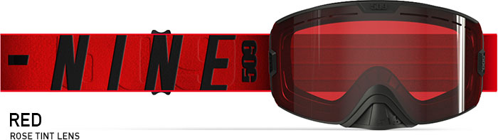 Red Kingpin Snow Goggle