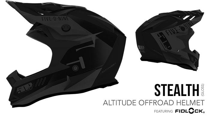 Stealth Altitude Offroad Helmet with Fidlock®