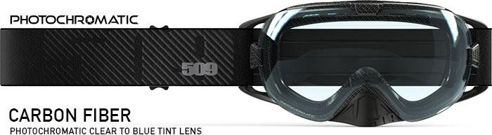 Carbon Fiber Revolver Snow Goggle