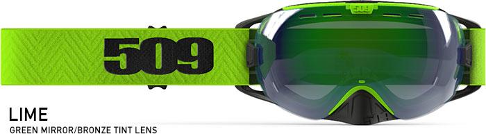 Lime Revolver Snow Goggle
