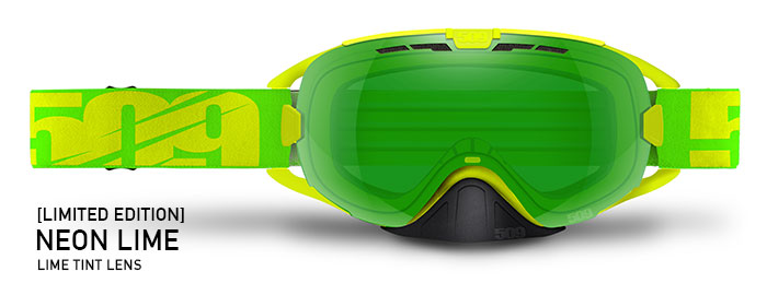 Limited Edition Neon Lime Revolver Snow Goggle