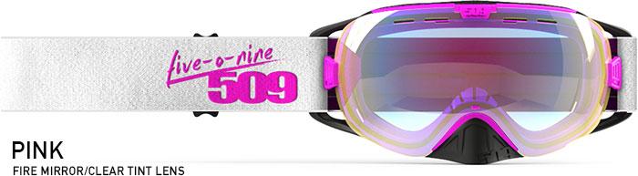 Pink Revolver Snow Goggle