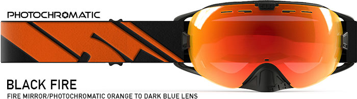 Black Fire Revolver Snow Goggle