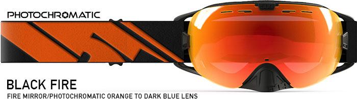 Black Fire Revolver Snow Goggle