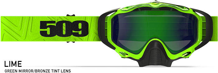 Lime Sinister X5 Snow Goggle