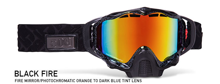 Black Fire Sinister X5 Snow Goggle