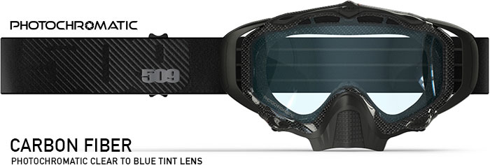 Carbon Fiber Sinister X5 Snow Goggle