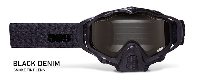 Black Denim Sinister X5 Snow Goggle