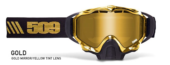Gold Sinister X5 Snow Goggle