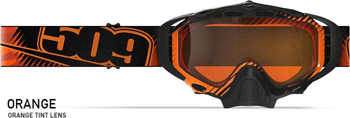Orange Sinister X5 Snow Goggle
