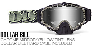 Dollar Bill Sinister X5 Snow Goggle