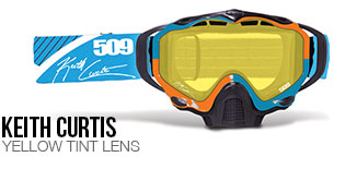 Keith Curtis Sinister X5 Snow Goggle