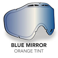 Blue Mirror/Orange Tint Sinister X5 Lens