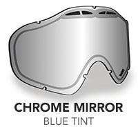Chrome Mirror/Blue Tint Sinister X5 Lens